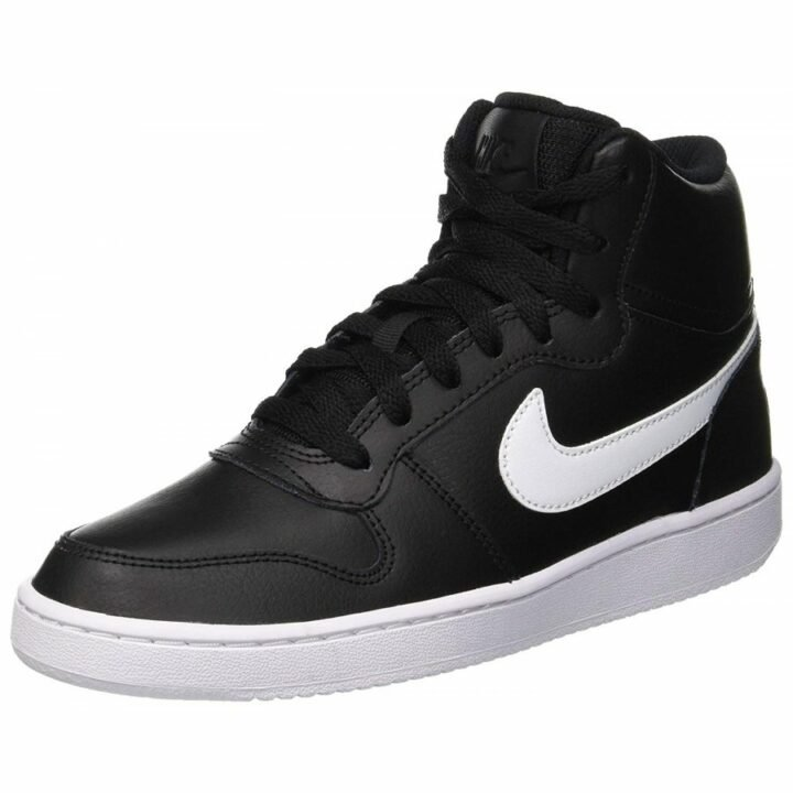 Nike Ebernon MID fekete női utcai cipő
