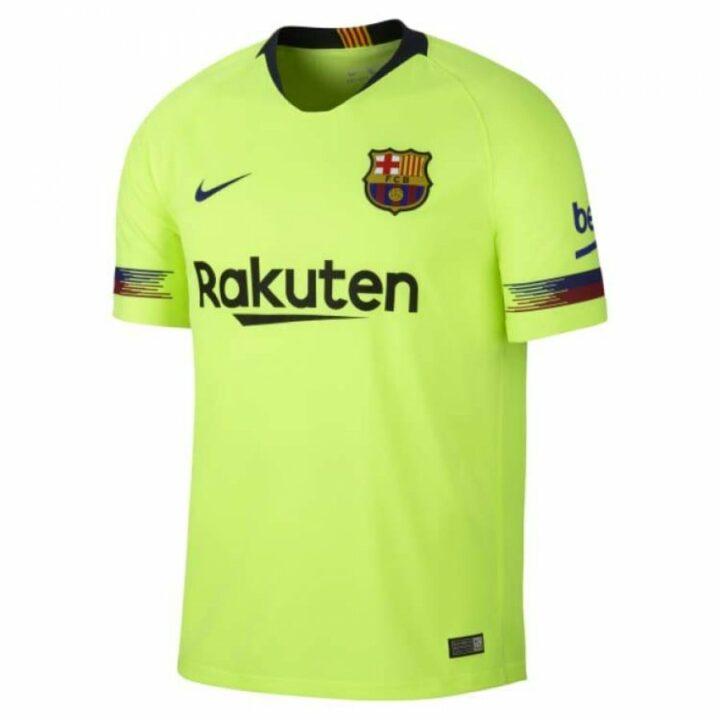 Nike FC Barcelona sárga férfi póló