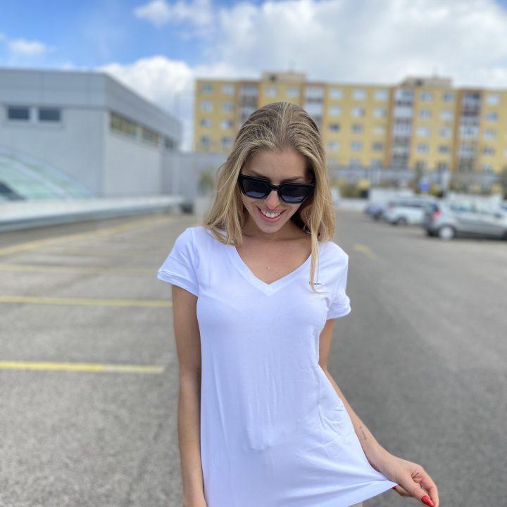 Nike fehér női póló