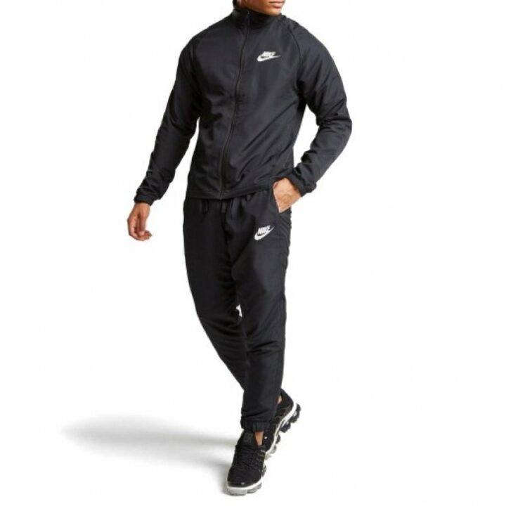 Nike fekete férfi melegítő együttes