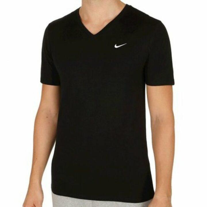 Nike fekete férfi póló