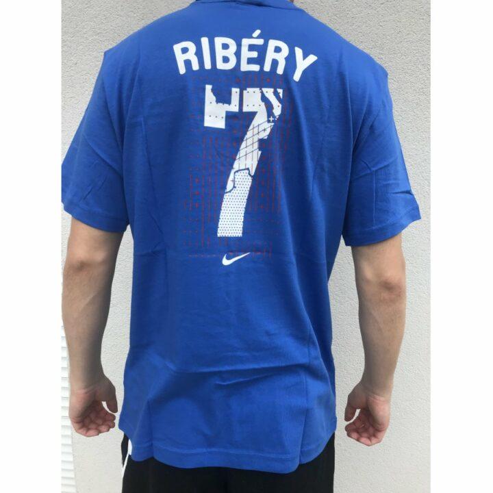 Nike France kék férfi póló
