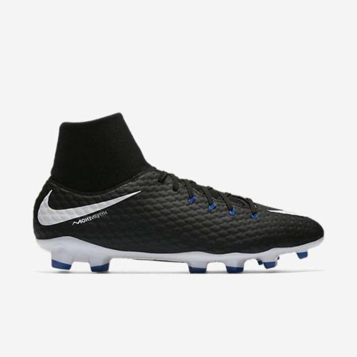 Nike Hypervenom Phelon III DF FG fekete férfi focicipő