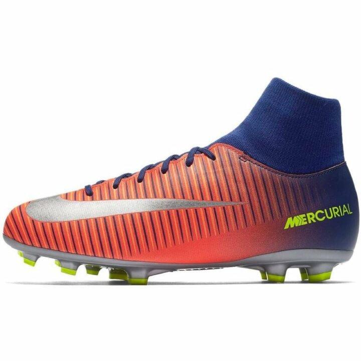 Nike JR Mercurial Victory VI DF FG narancs fiú focicipő