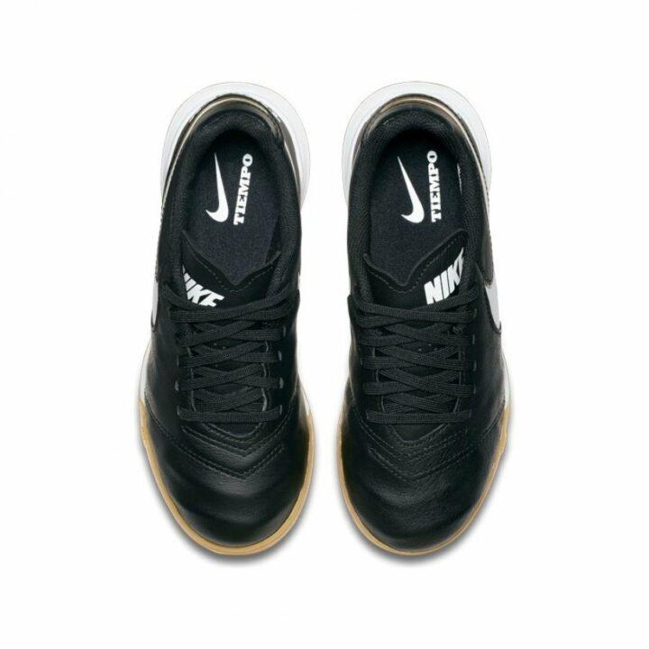 Nike JR Tiempo Legend VI IC fekete fiú teremcipő