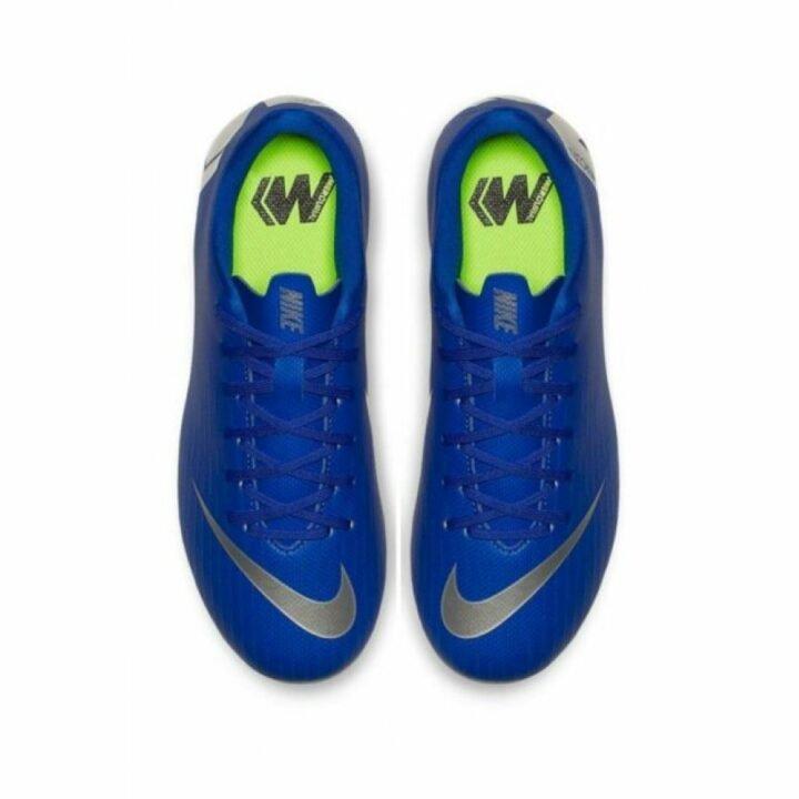Nike JR Vapor 12 Academy GS FG/MG kék fiú focicipő