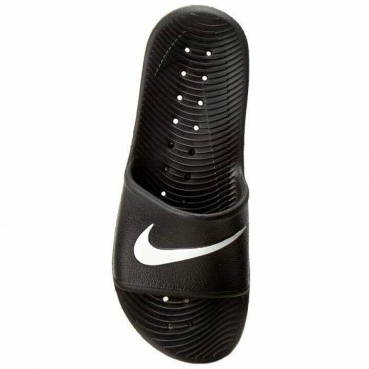 Nike Kawa fekete papucs