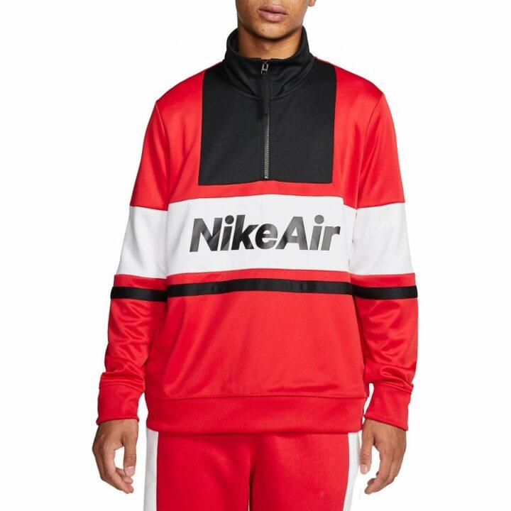 Nike M NSW AIR JKT PK piros férfi pulóver