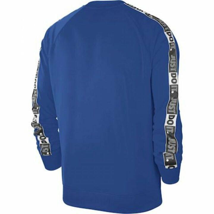 Nike M NSW JDI CREW PK kék férfi pulóver