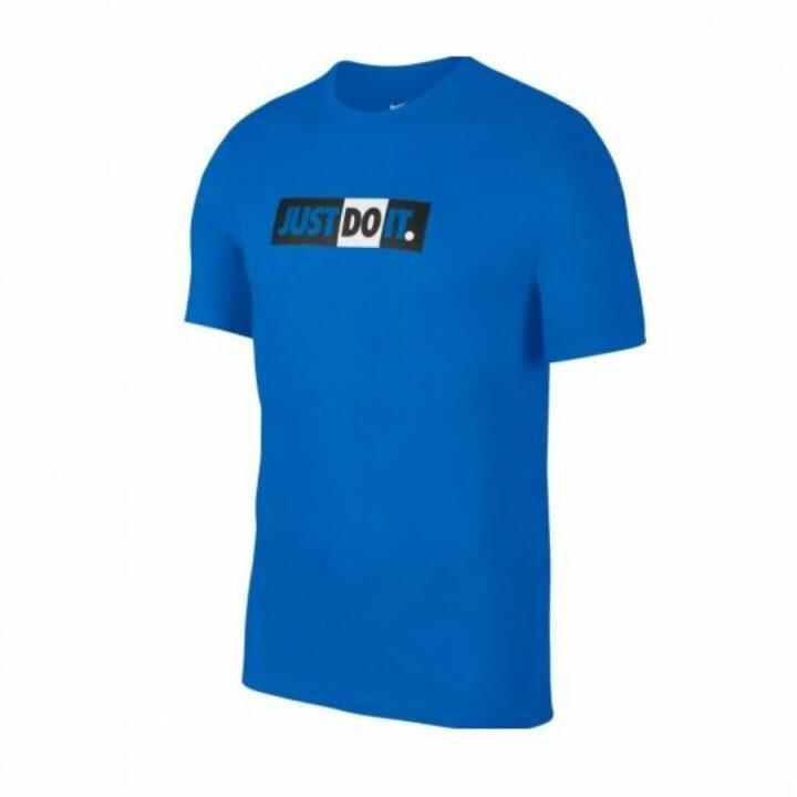 Nike  NSW Just Do It kék férfi póló