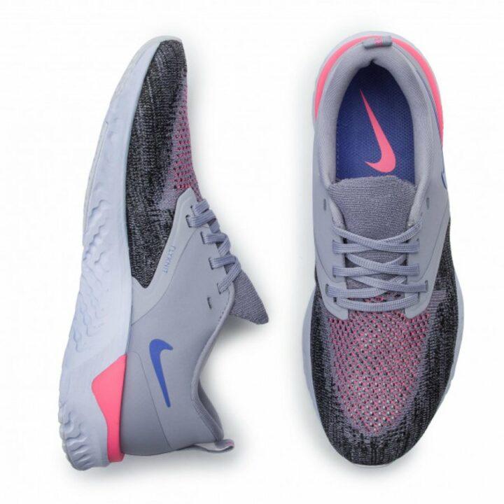 Nike Odyssey React 2 Flyknit lila női futócipő