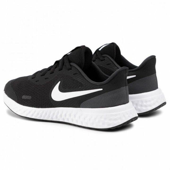 Nike Revolution 5 fekete futócipő