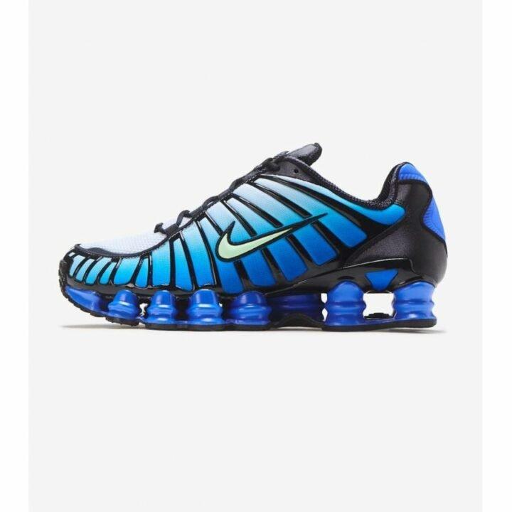 Nike Shox TL kék férfi utcai cipő