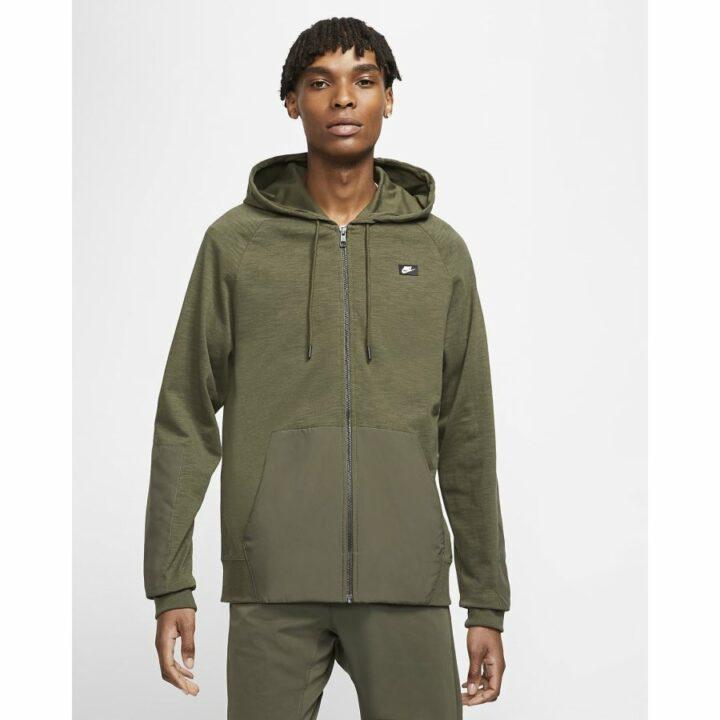 Nike Sportswear zöld férfi pulóver