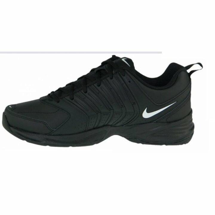 Nike T-lite 9 Leather fekete férfi utcai cipő