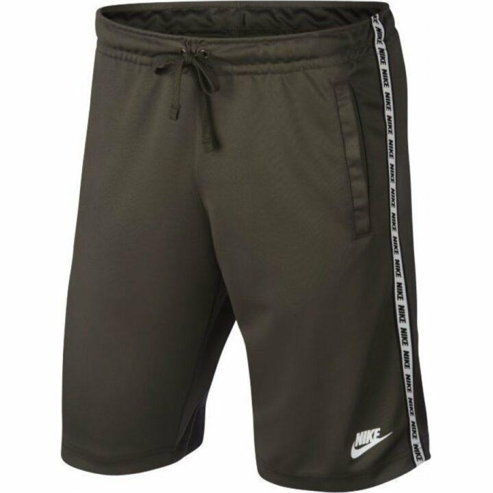 Nike Taping zöld férfi rövidnadrág