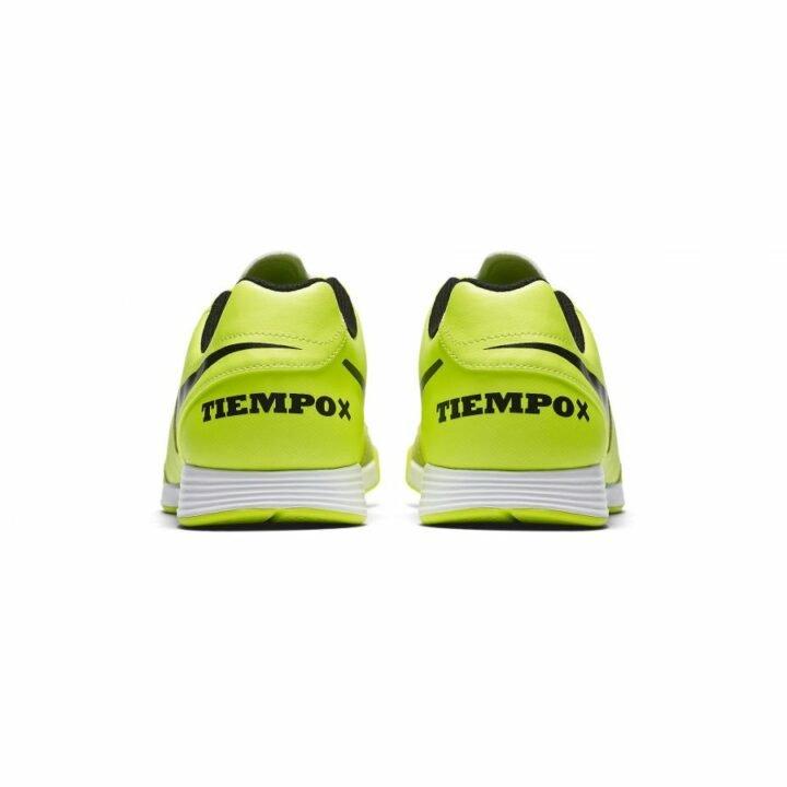 Nike Tiempox Genio II Leather IC sárga fiú teremcipő