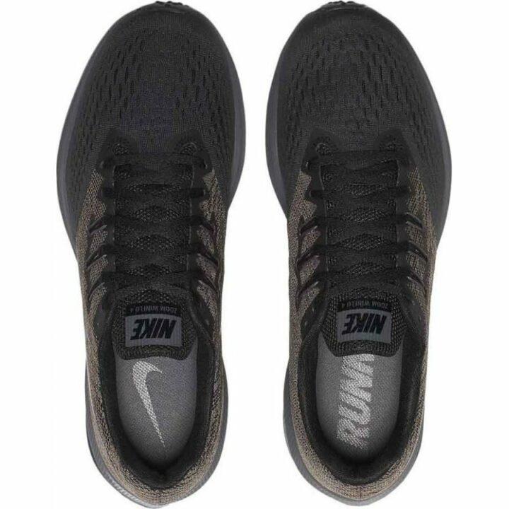 Nike Zoom Winflo 4 fekete férfi futócipő