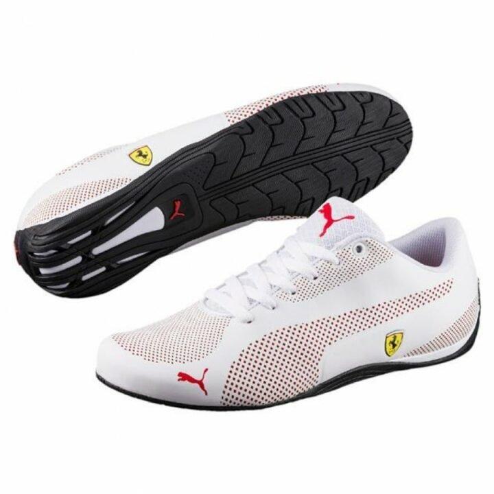 Puma Ferrari SF Drift Cat 5 Ultra fehér férfi utcai cipő