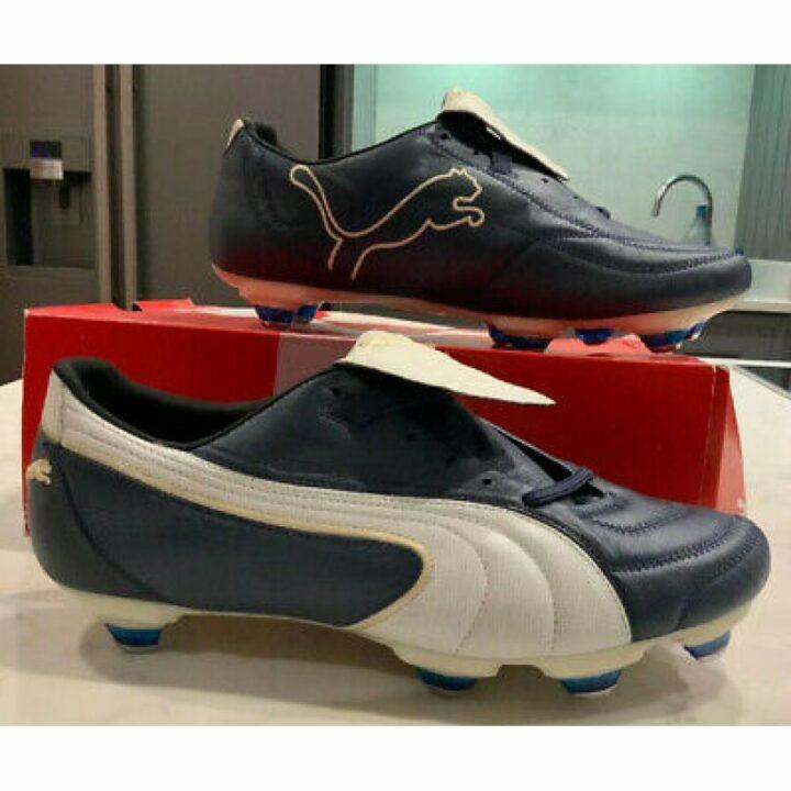 Puma KING EXEC SG kék férfi focicipő
