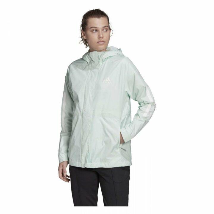 Adidas BSC 3S WIND zöld női dzseki