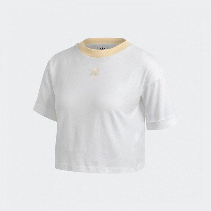 Adidas Crop Top fehér női póló