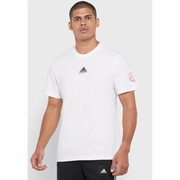 Adidas Doodle 360 fehér férfi póló