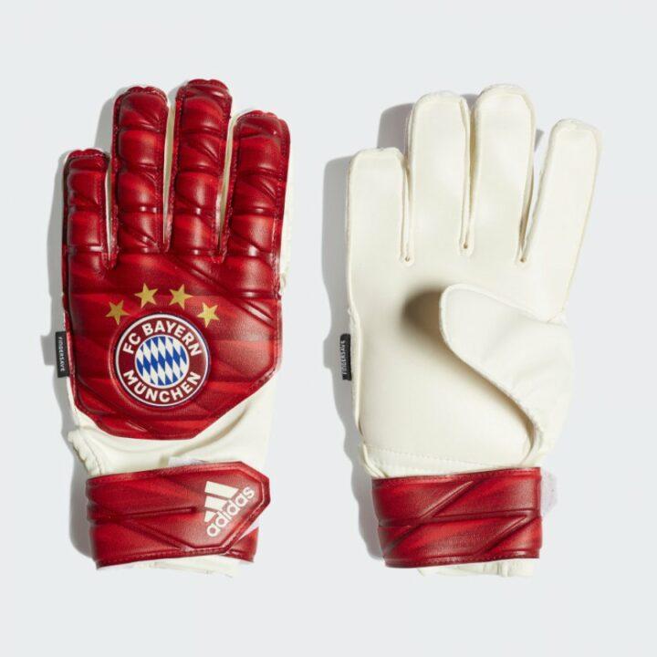 Adidas  FCB TTRN FS piros férfi kapuskesztyű