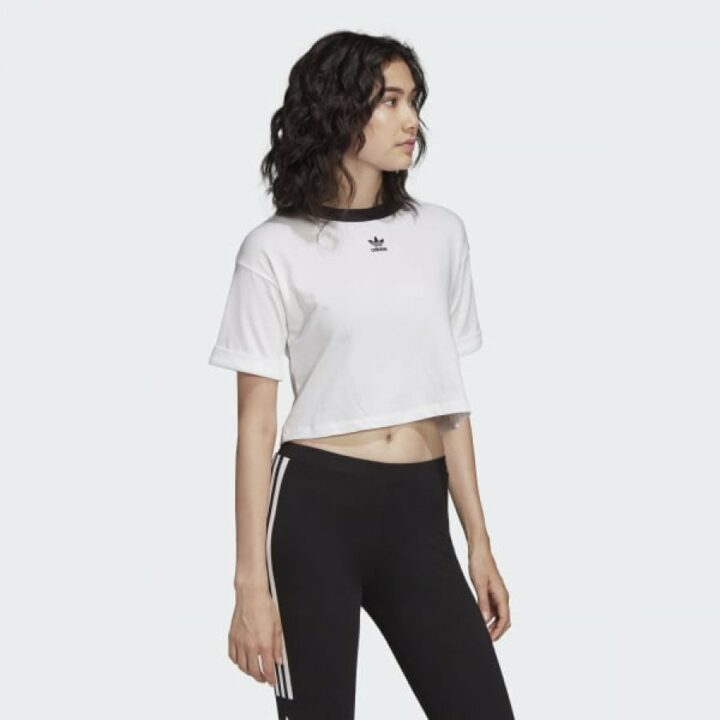 Adidas fehér női póló