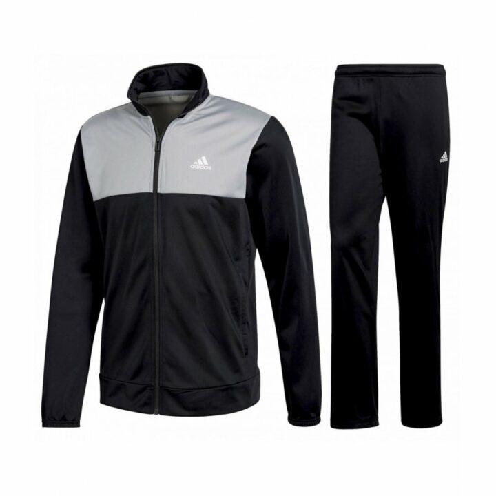 Adidas fekete férfi melegítő együttes