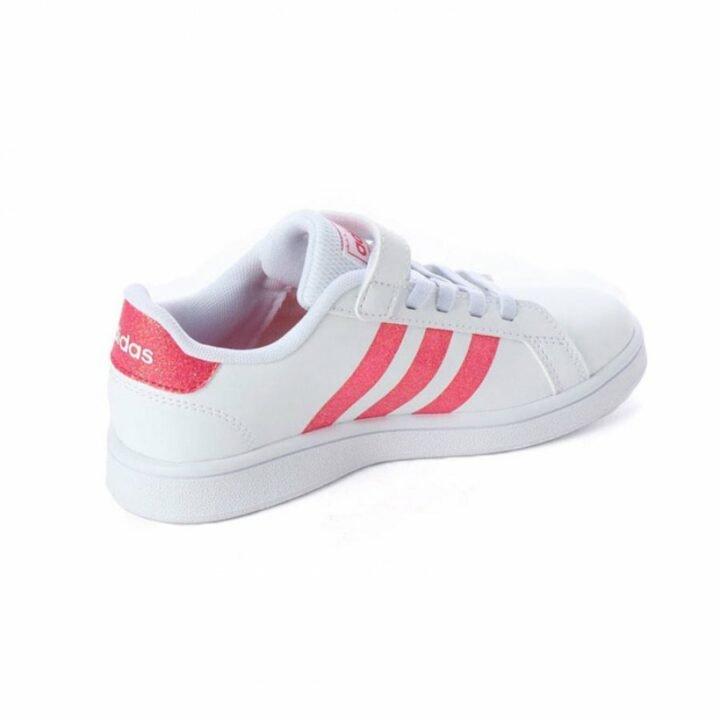 Adidas GRAND COURT C fehér lány utcai cipő