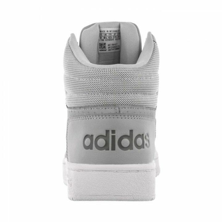 Adidas Hoops 2.0 Mid szürke utcai cipő