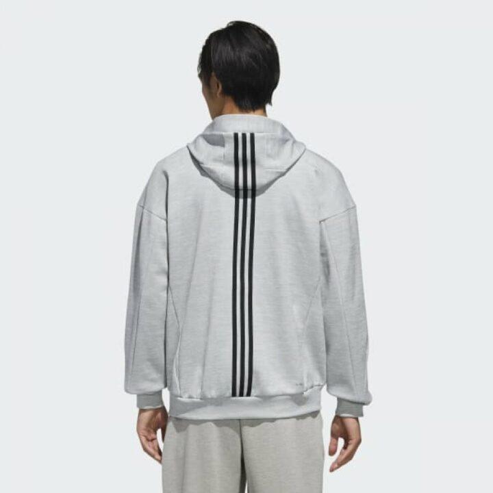 Adidas ID HOODIE szürke férfi pulóver
