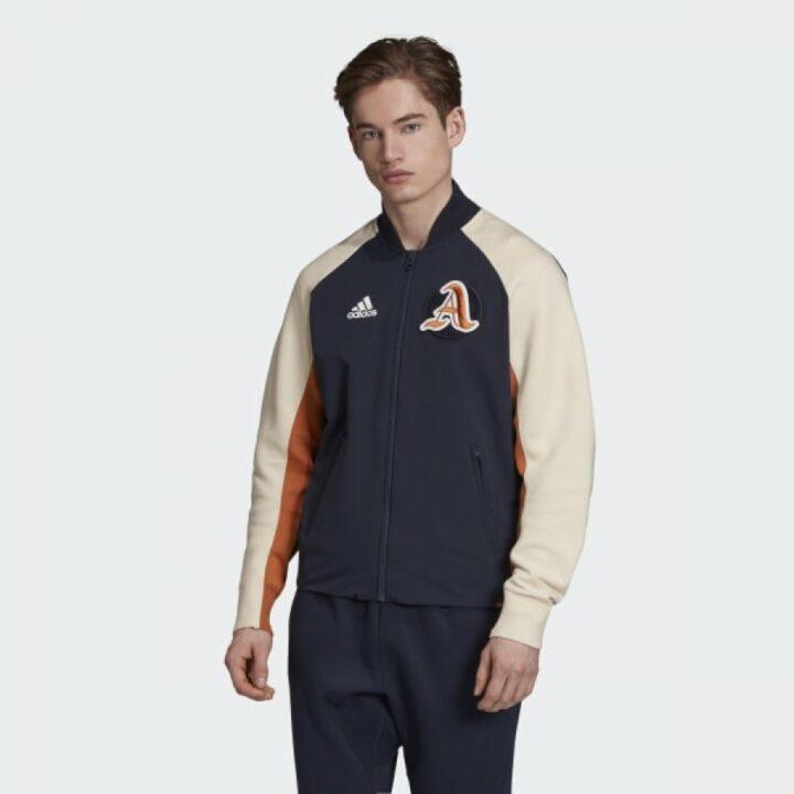 Adidas kék férfi dzseki