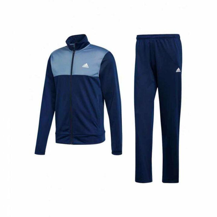 Adidas kék férfi melegítő együttes
