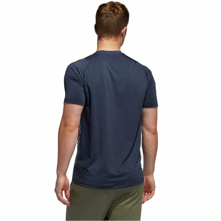 Adidas kék férfi póló