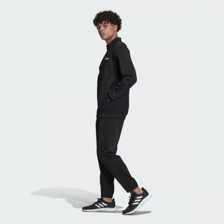 Adidas Linear Tricot fekete férfi melegítő együttes