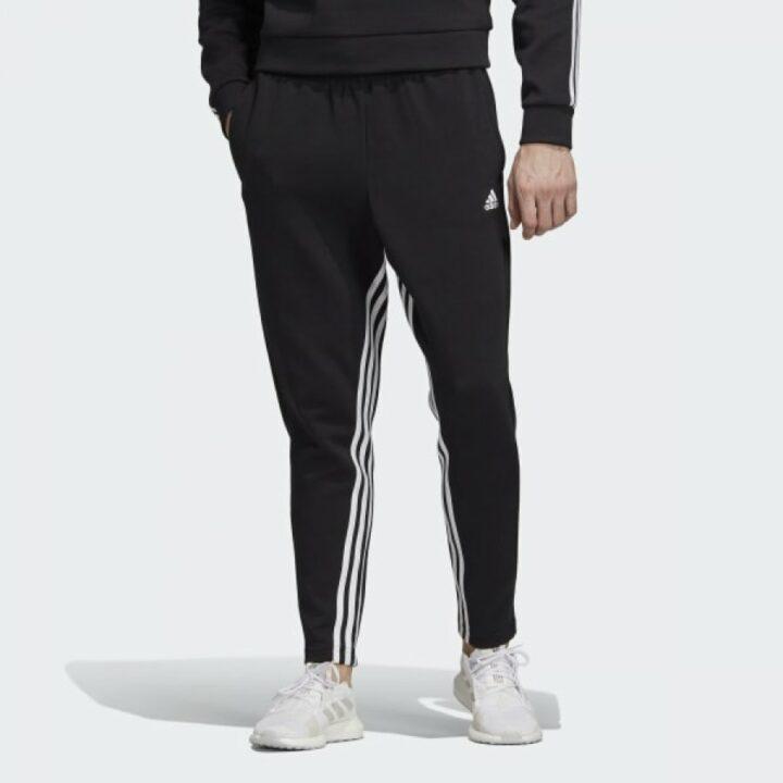 Adidas MUST HAVES 3 STRIPES fekete férfi melegítőnadrág