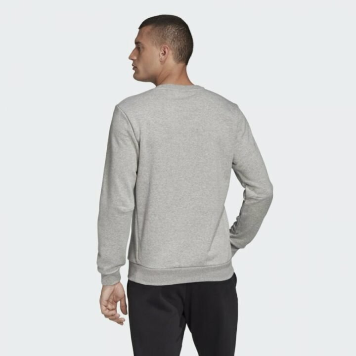 Adidas Must Haves szürke férfi pulóver