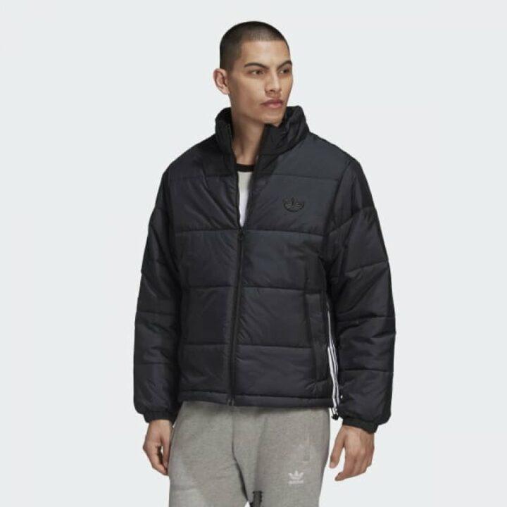 Adidas Originals Padded Stand fekete férfi kabát