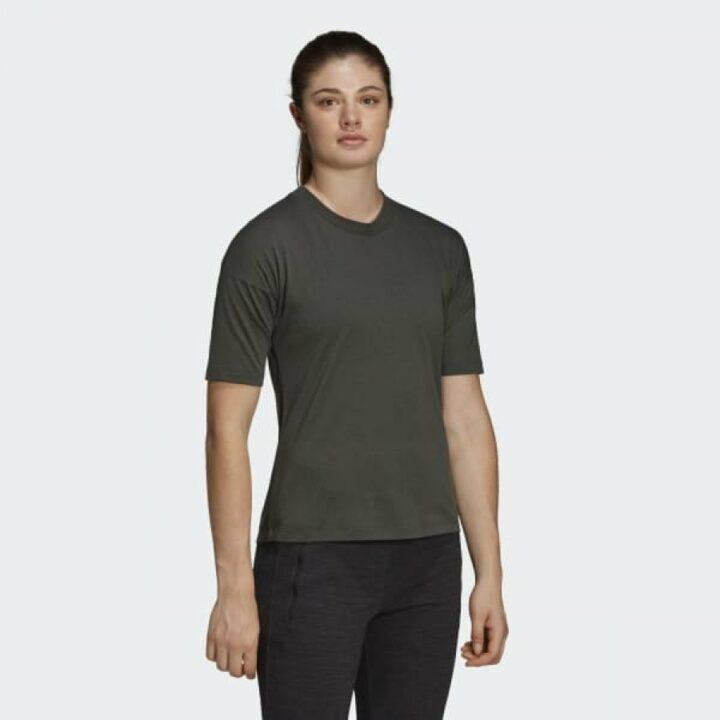 Adidas szürke női póló