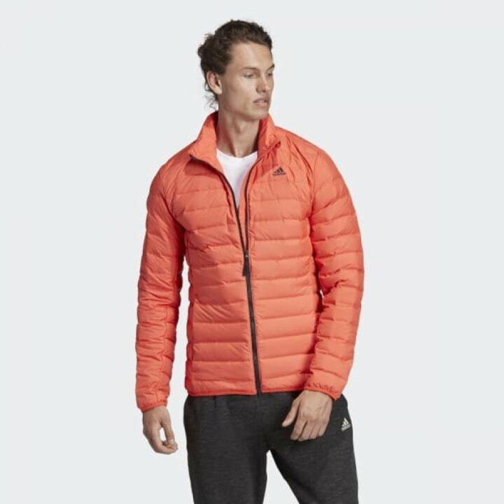 Adidas Varilite narancs férfi kabát