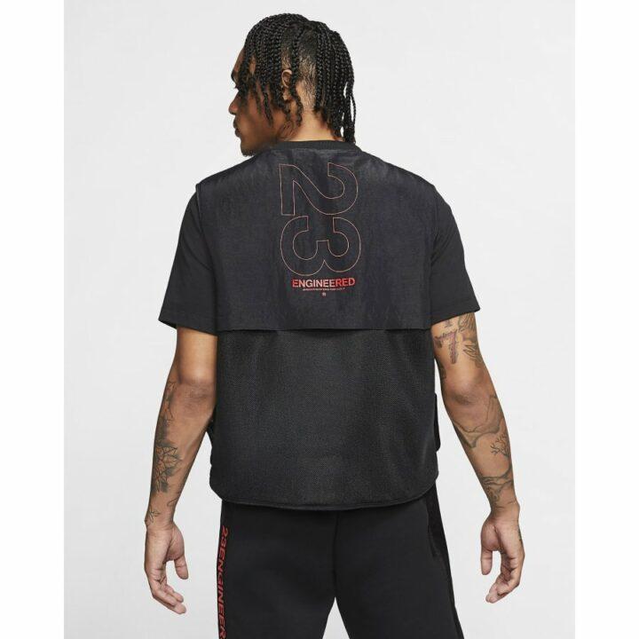 Jordan 23 Engineered fekete férfi mellény