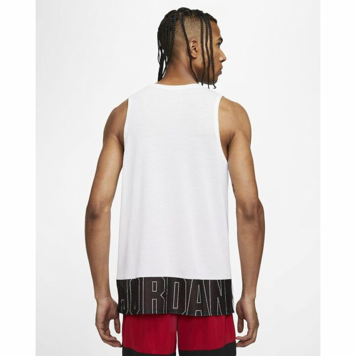 Jordan fehér férfi trikó