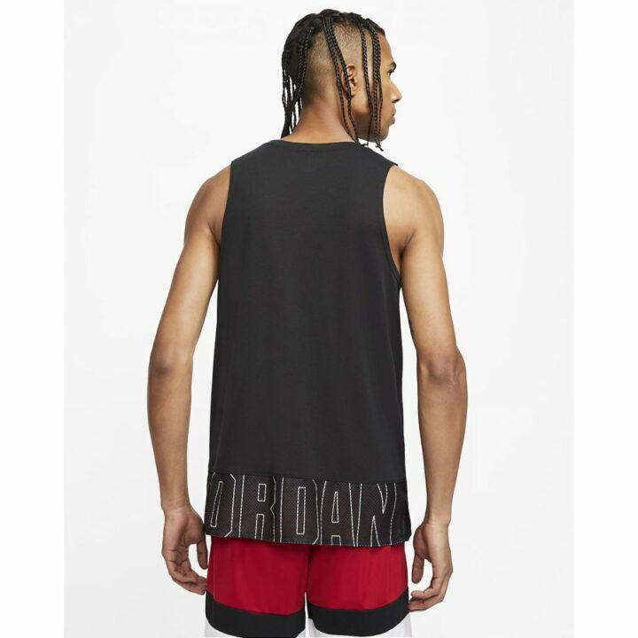 Jordan fekete férfi trikó