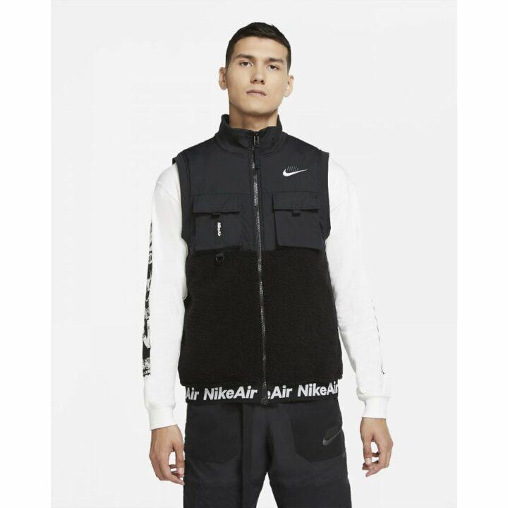 Nike Air fekete férfi mellény
