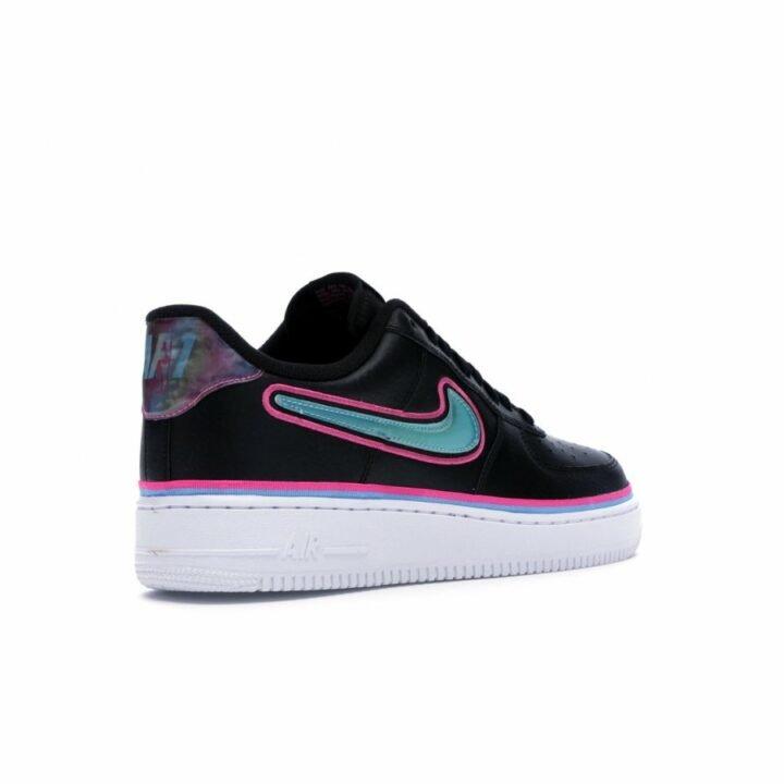 Nike Air Force 1 '07 LV8 SPORT fekete női utcai cipő