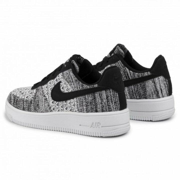 Nike  Air Force 1 Flyknit 2.0 GS szürke utcai cipő
