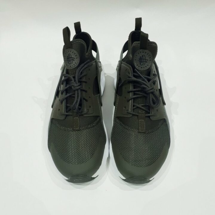 Nike Air Huarache Run Ultra BG zöld női utcai cipő