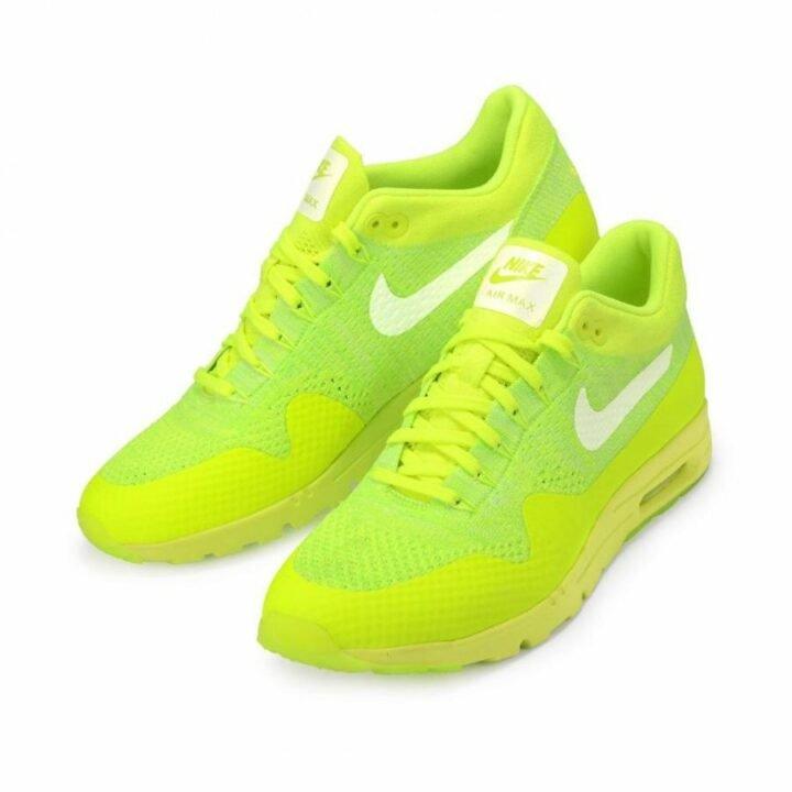 Nike  Air Max 1 Ultra Flyknit sárga utcai cipő